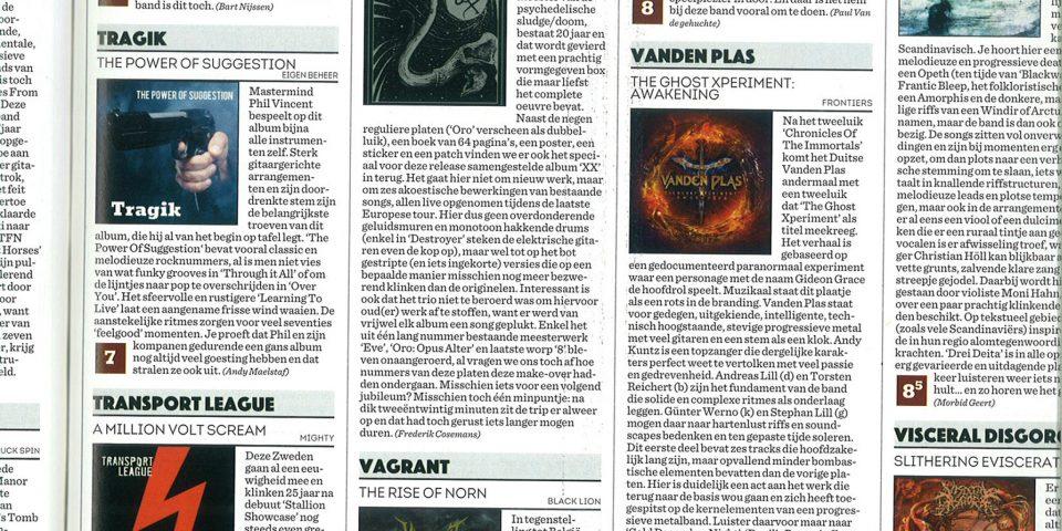 B RockTribune – Oct2019 – Review