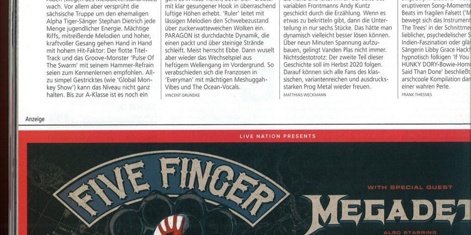 D Metal Hammer – Nov2019 – Review