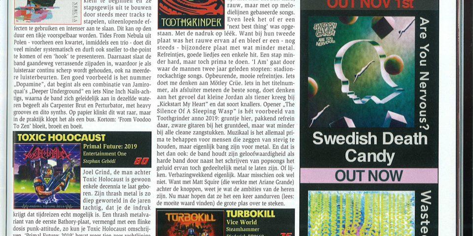 NL Aardshok – Nov2019 – Review